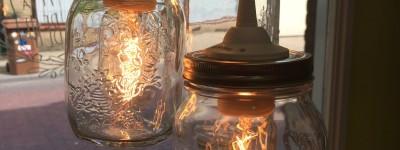 lampen in de winkel