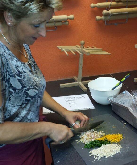 snijden van groenten